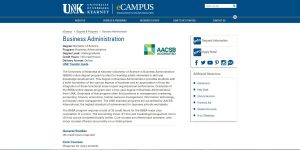 University of Nebraska-Kearney Undergraduate Business