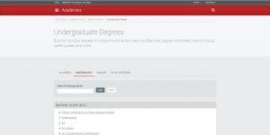 University of Nevada-Las Vegas Undergraduate Business