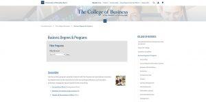University of Nevada-Reno Undergraduate Business