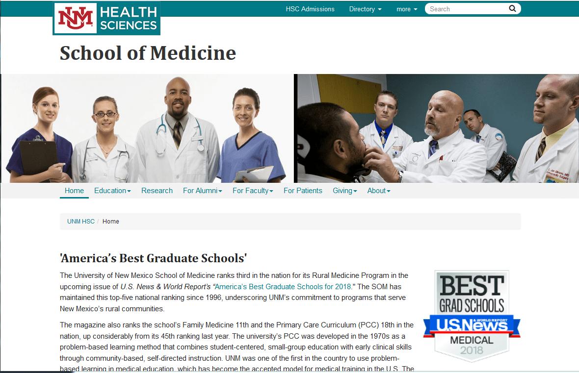 University of New Mexico School of Medicine