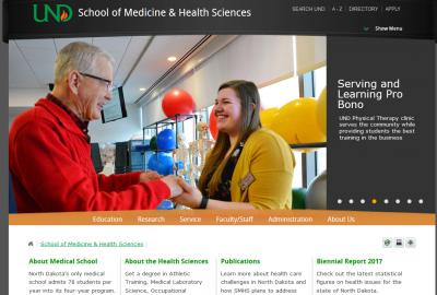 University of North Dakota School of Medicine and Health Sciences