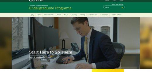 University of Oregon Undergraduate Business