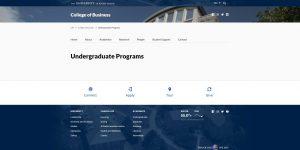 University of Rhode Island Undergraduate Business