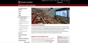 University of South Carolina Undergraduate Business