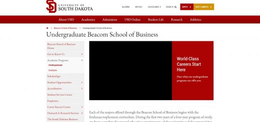 University of South Dakota Undergraduate Business