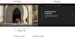 University of Southern California Undergraduate Business