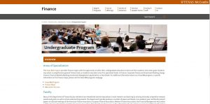 University of Texas-Austin Undergraduate Business