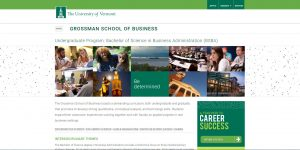 University of Vermont Undergraduate Business