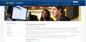University of Virginia Undergraduate Business