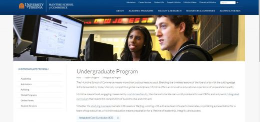 University of Virginia Undergraduate Business