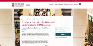 University of Wisconsin-Madison Undergraduate Business