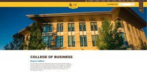 University of Wyoming Undergraduate Business