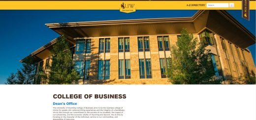 University of Wyoming Undergraduate Business