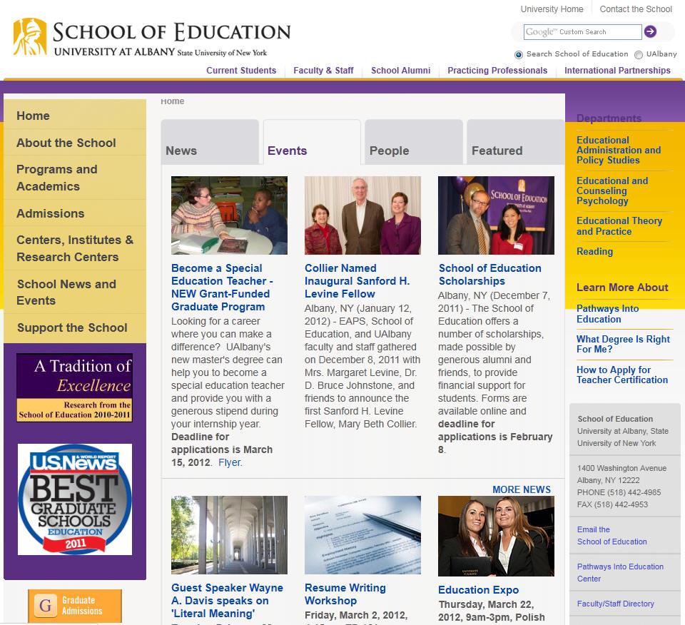 University at Albany SUNY School of Education
