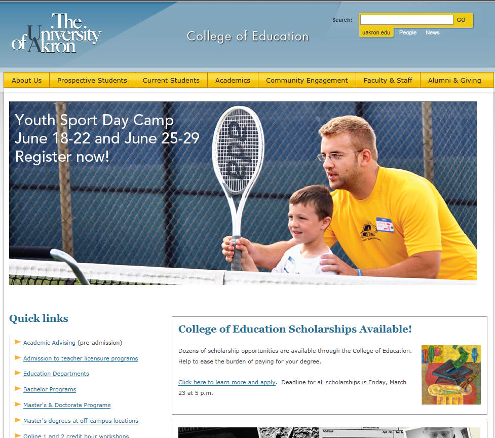 University of Akron College of Education