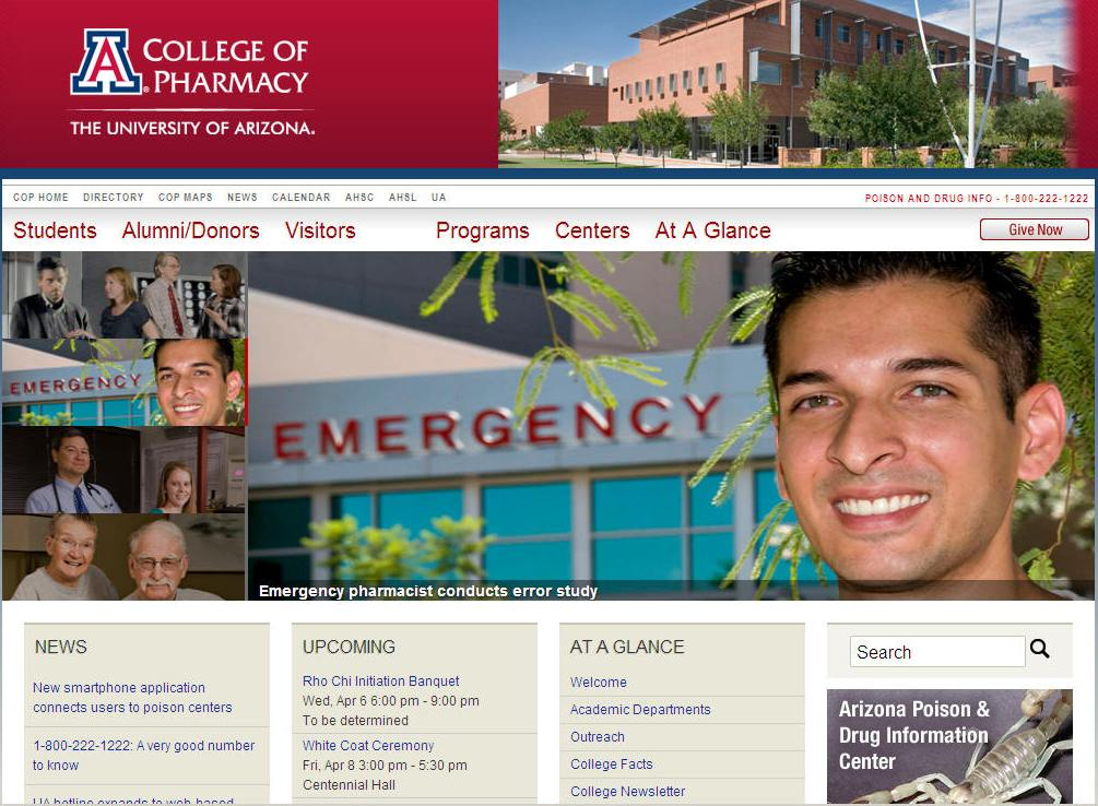 University of Arizona College of Pharmacy