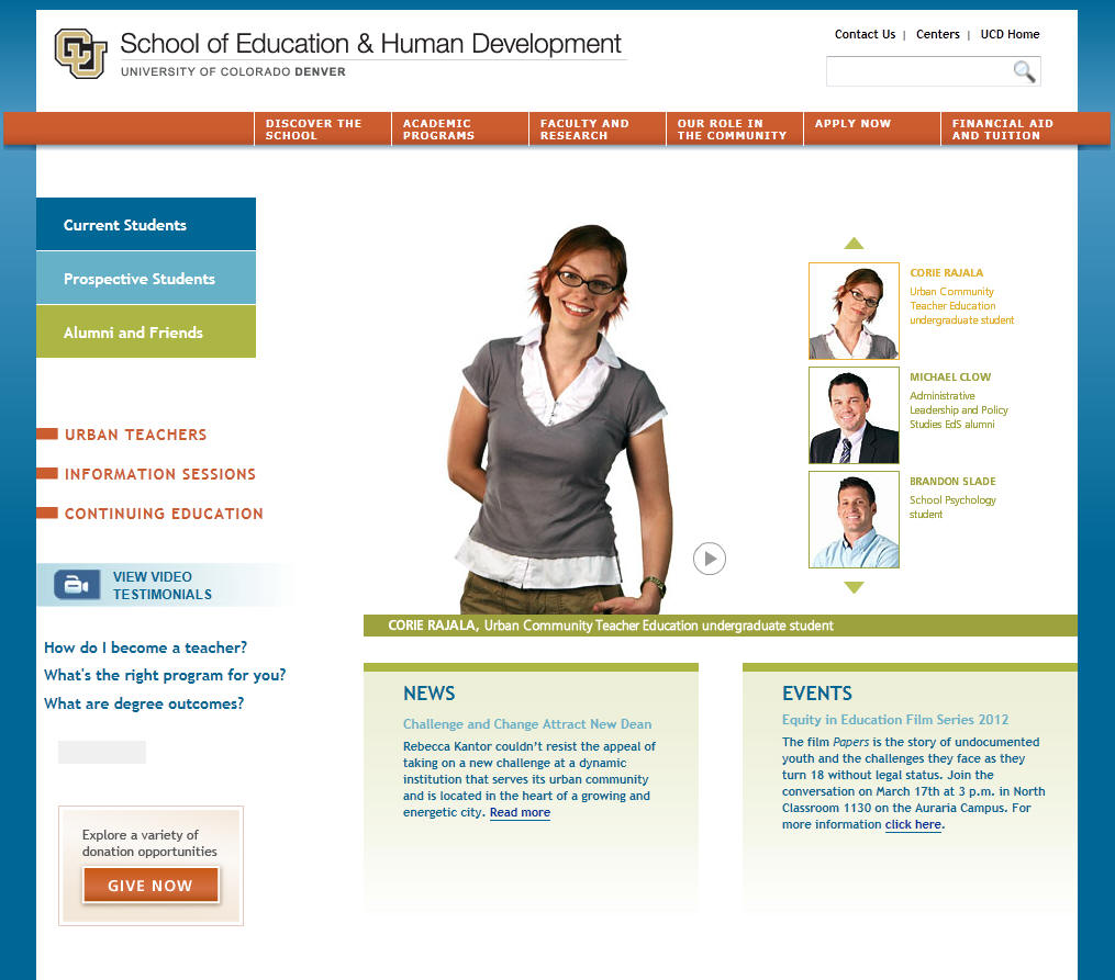 University of Colorado Denver School of Education and Human Development