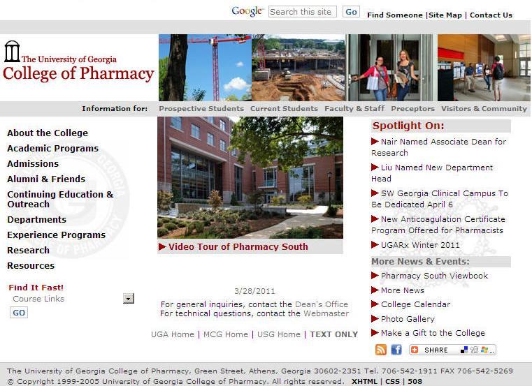 University of Georgia College of Pharmacy
