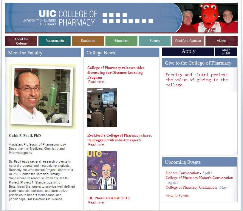 University of Illinois-Chicago College of Pharmacy