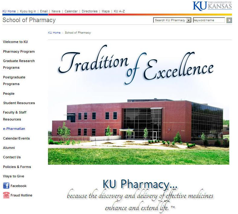 University of Kansas School of Pharmacy