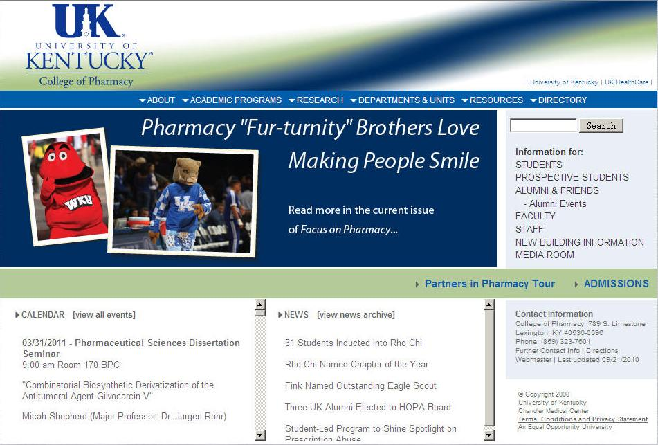 University of Kentucky College of Pharmacy