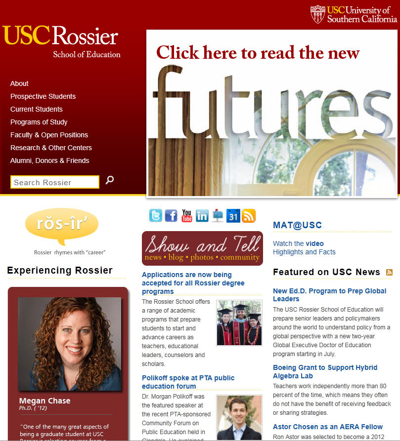 University of Southern California Rossier School of Education