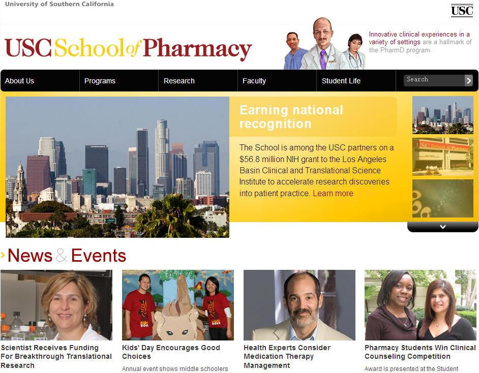 University of Southern California School of Pharmacy