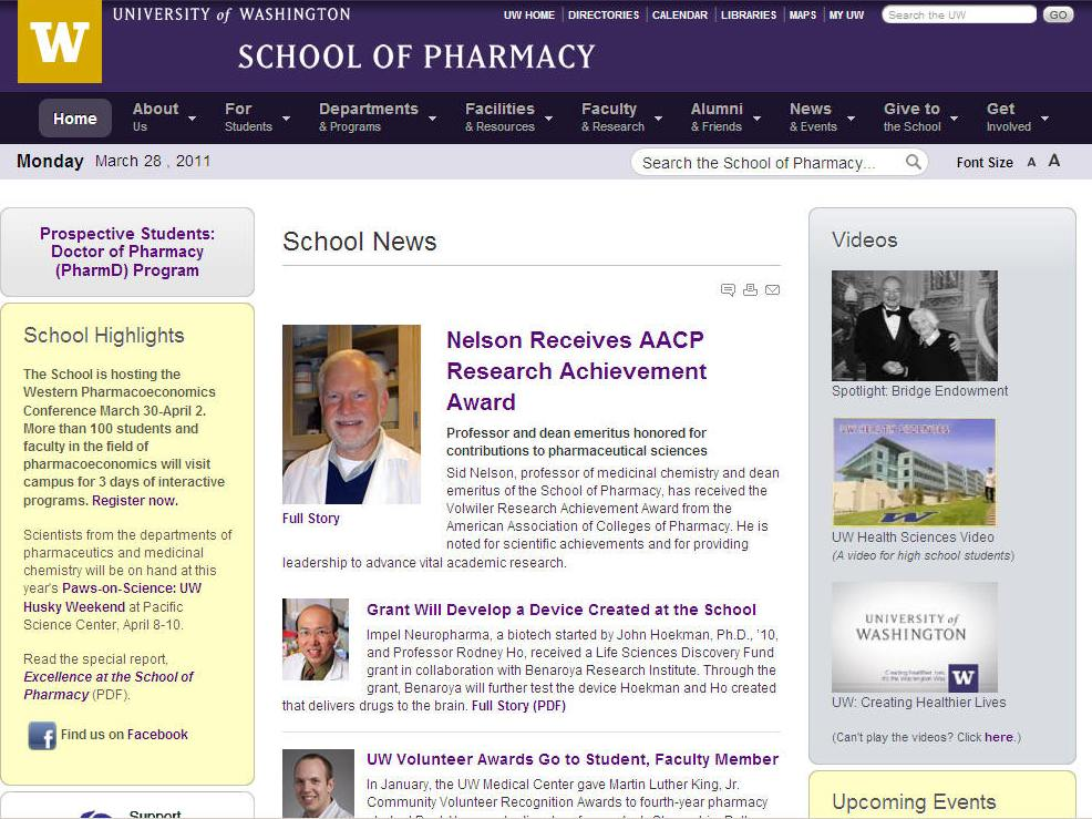 University of Washington School of Pharmacy