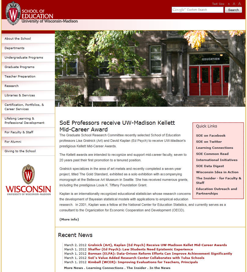 University of Wisconsin–Madison School of Education