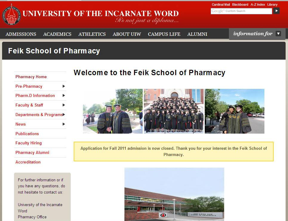 University_of_the_Incarnate_Word_Feik_School_of_Pharmacy