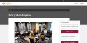 Virginia Tech Undergraduate Business
