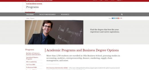 Washington University in St. Louis Undergraduate Business