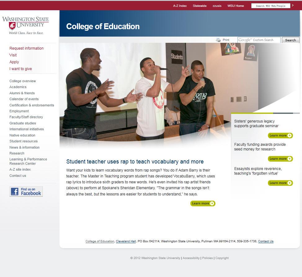 Washington State University College of Education
