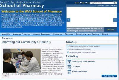 West Virginia University School of Pharmacy