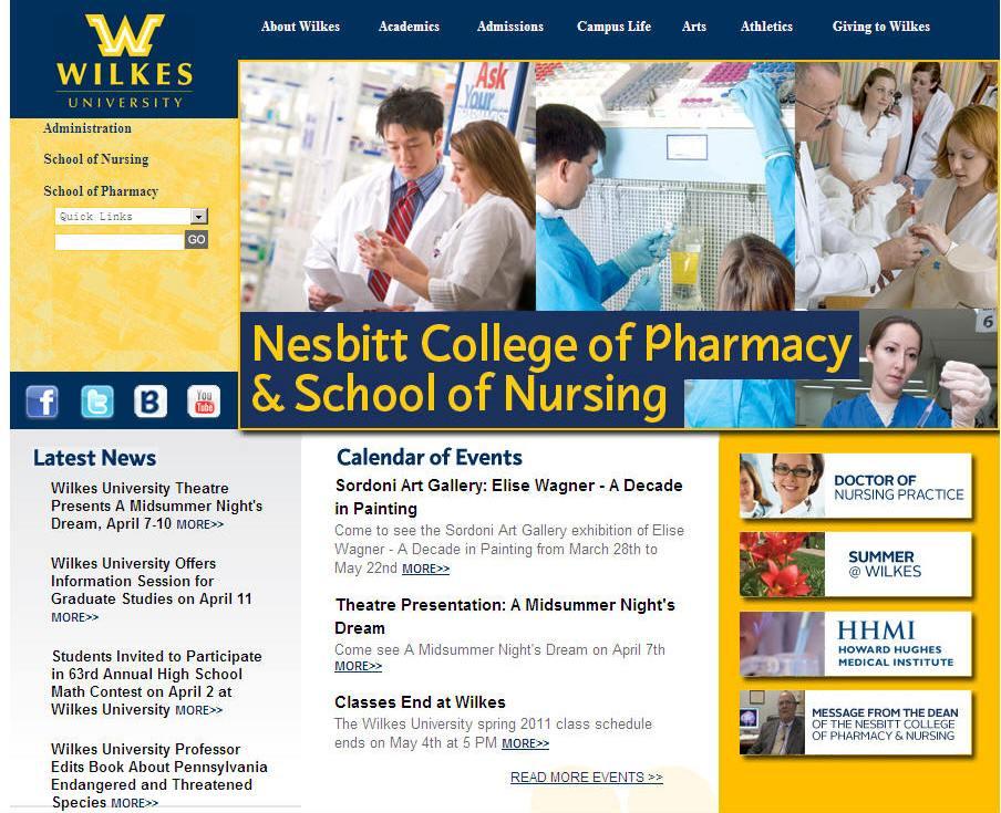 Wilkes University Nesbitt College of Pharmacy Nursing
