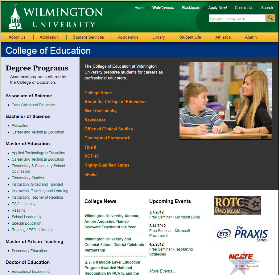 Wilmington University College of Education