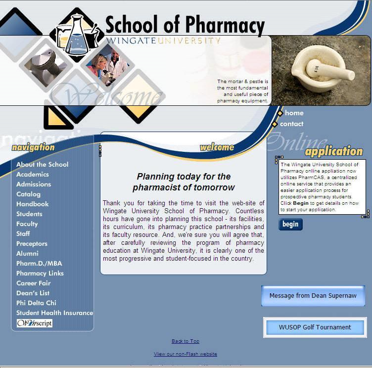 Wingate University School of Pharmacy