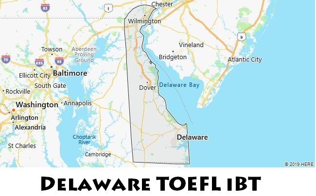 Delaware TOEFL iBT