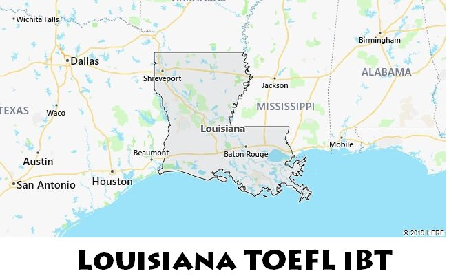 Louisiana TOEFL iBT