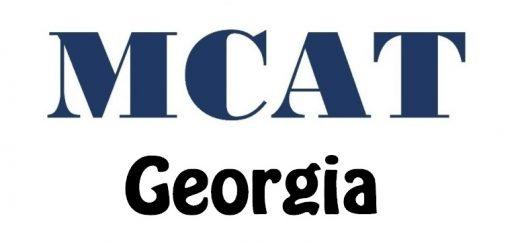 MCAT Test Centers in Georgia
