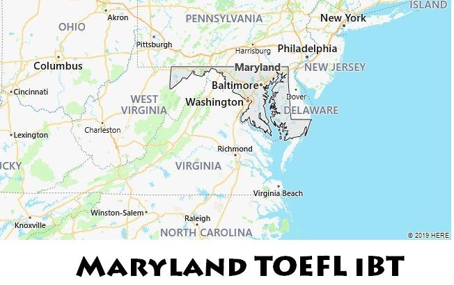 Maryland TOEFL iBT