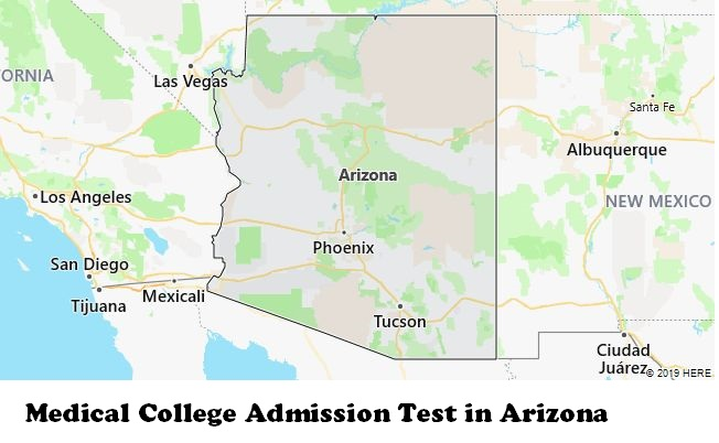 Medical College Admission Test in Arizona