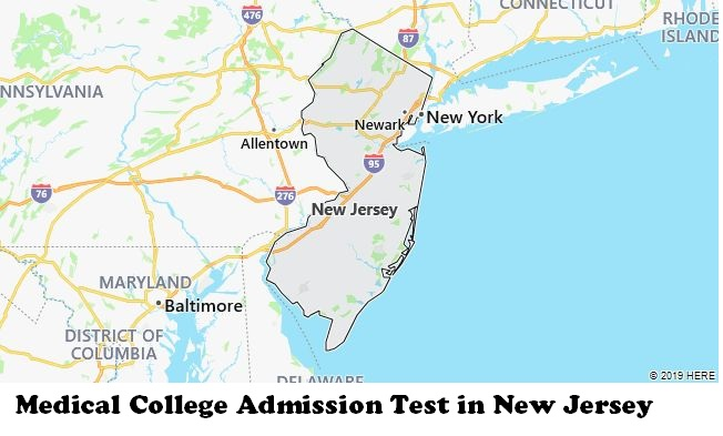 Medical College Admission Test in New Jersey