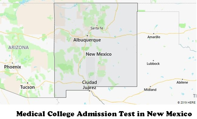 Medical College Admission Test in New Mexico