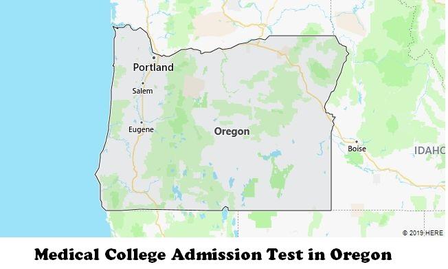 Medical College Admission Test in Oregon