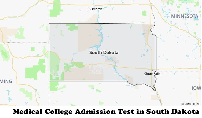 Medical College Admission Test in South Dakota