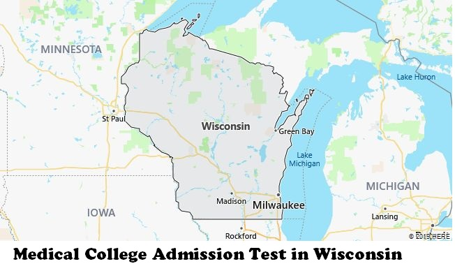 Medical College Admission Test in Wisconsin