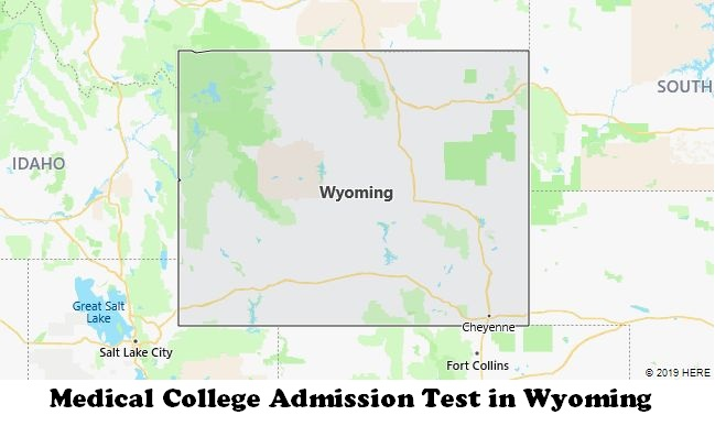 Medical College Admission Test in Wyoming