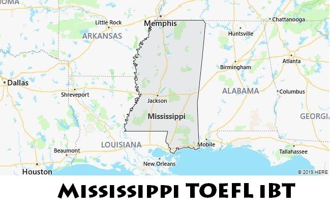 Mississippi TOEFL iBT