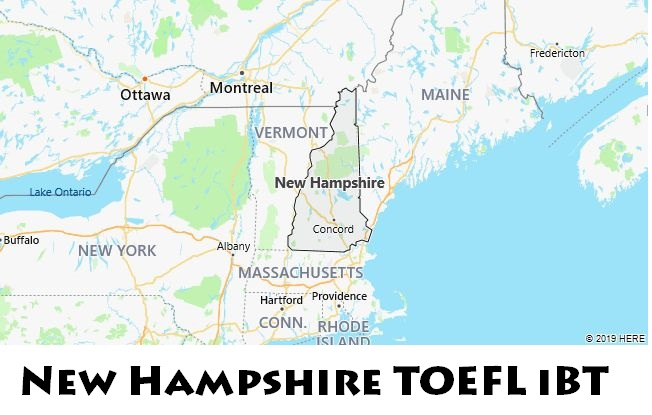 New Hampshire TOEFL iBT